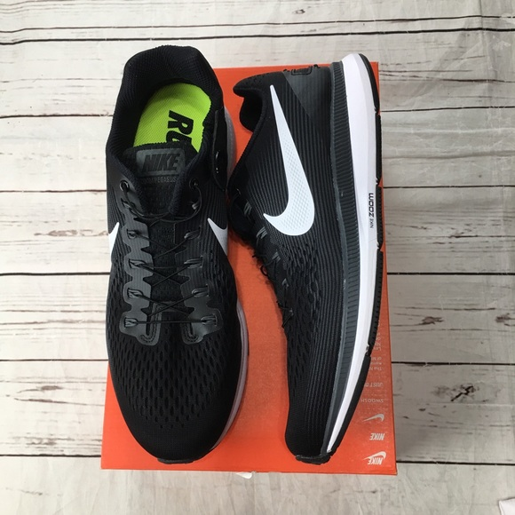 d46b9b96c268 Nike air zoom Pegasus 34 flyease size 12 black NEW